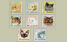 Hungary 1968. Animals / cats set MNH (**) Mi.:7 EUR