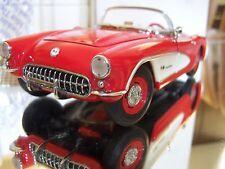 "Franklin Mint 1:24 ""Fuelie"" 1957 Corvette Convertible MIB (Discontinued)"