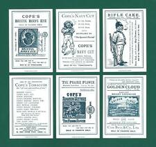 NOVELTY - 20 SETS OF P 7 - COPE BROS. ' THE  SEVEN  AGES  OF  MAN ' - REPRINTS