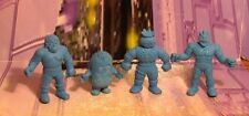 M.U.S.C.L.E. Figure 4 Lot Kenkeshi Soft Rubber Figures -Group 46-  Muscles