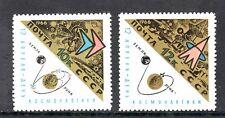 TEMA ASTRO. RUSIA 1966 3088/89 MOTIVO ALUSIVO 2v.