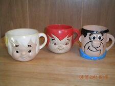Vintage Flintstones Plastic Cups from Multi-Vit Premium Mail-in Offer