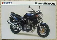 SUZUKI BANDIT 600 GSF600 MOTORCYCLE Sales Specification Sheet Feb 2003
