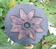 Pointsettia Christmas mold spring multi flower candle holder mould