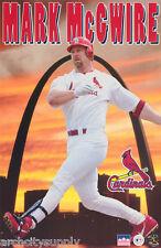 POSTER: MLB BASEBALL : MARK McGWIRE - CARDINALS - FREE SHIPPING   #5049  LW10 M