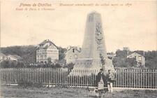 CPA 92 PLATEAU DE CHATILLON MONUMENT COMMEMORATIF  (dos non divisé)