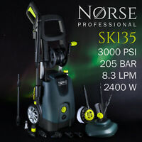 NORSE Professional - High Power Electric Pressure / Jet washer 3000psi - SK135