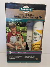 New listing PetSafe Deluxe Little Dog Spray Bark Control Collar Pbc00-11283 open box