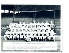 1946 AMERICAN LEAGUE CHAMPIONS BOSTON RED SOX 8X10 TEAM PHOTO  BASEBALL FENWAY