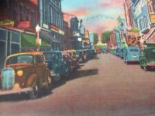 Ansichtskarte umgelaufen um 1900 Loudon Street the Main Street of Winchester VA