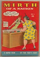 Mirth Of A Nation #2 Harry A Chesler Publications. Gag Cartoons WW2 Era