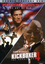 Kickboxer 3: The Art of War/Kickboxer 4: The Aggresso (2003, DVD NEUF)2 DISC SET