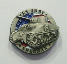 US SHERMAN 3D (Badge émail/pin's)