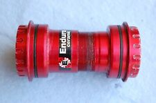 Wheels Manufacturing PF30-OUT Threaded Bottom Bracket Shimano Cranks Ceramic Red