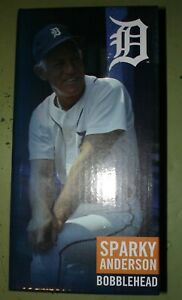 Sparky Anderson Detroit Tigers Manager Bobblehead 2019 New