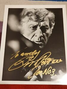 Dr Who, Jon Pertwee Hand Signed 10 X 8 Photo