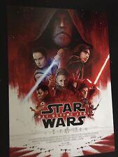 Star Wars Gli Ultimi Jedi Poster 70x100 ORIGINALE ITALIANO NON PIEGATO