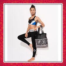 (1) Victoria's Secret PINK 2018 Mesh Tote Bag Marl Gray NEW