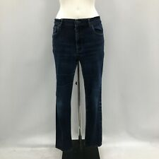 "Prada Denim Jeans Womens Size UK 29"" Loose Fit Dark Blue Casual Everyday 291664"