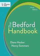The Bedford Handbook by Diana Hacker and Nancy Sommers (2013, Paperback, New Ed…