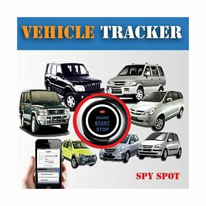 Hard Wire Fleet Car Auto Vehicle GPS Tracker With Ignition Kill Switch Contro...