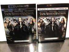 Snow White and the Huntsman (2012) 4K Ultra HD+Blu-ray 2-Discs w/RARE Slipcover