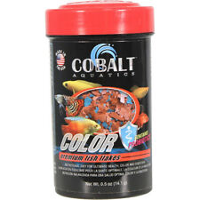 COBALT - Color Flake Premium Fish Food Large - 0.5 oz. (14.1 g)