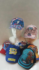 Unbranded Baseball Cap 100% Cotton Hats for Boys