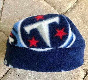 Tennessee Titans  Fleece Hat - Newborn Baby, Girls, Boys, Children, Adult men
