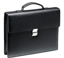 Montblanc Meisterstuck Soft Grain Single Gusset  Briefcase/Laptop Bag - Black