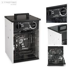 TROTEC TDS 20 Elektrische kachel, verwarming, mobiele kachel, bouwkachel