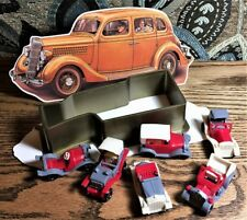 Classic Car Christmas Ornament Box (6 Toy Cars inside!) Mint Condition Shackman