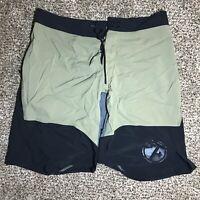 Z82375 Black Orange Genuine Reebok Men/'s Industrial Board Shorts