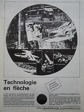 4/1967 PUB LTV AEROSPACE A-7 CORSAIR II LANCE SCOUT M561 GAMA GOAT FRENCH AD