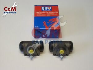 REAR BRAKE WHEEL CYLINDER PAIR for FORD MONDEO 1993 to 2000 ESTATE MODELS QH NEW