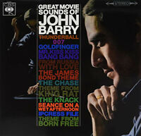 John Barry & His Orchestra ‎– The Great Movie Sounds Of John Barry VINYL LP