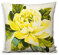 Designers Guild Charlottenberg Designer Fabric Cushion Pillow Cover Yellow