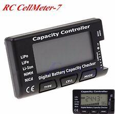 RC CellMeter-7 Digital Battery Capacity Checker F LiPo LiFe Li-ion Nicd NiMH New