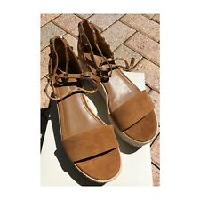 Marc Fisher NWT suede espadrille sandals, 8.5