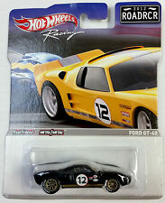 HOTWHEELS RACING 2012 ROAD RACERS ROADRCR REAL RIDERS FORD GT-40 #12