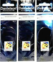 Danielson Size 12 Snelled Baitholder Hooks ( 1 package with 6 Hooks ) #30-12