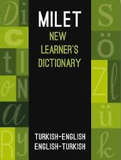 Milet New Learner's Dictionary: Turkish-English & English-Turkish (Paperback or
