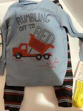 Target Just One You Carter's Toddler Boys 4pc Truck and Car Print Pajama Set 12m