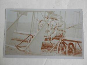 Vintage Aviation Postcard. Beatty School of Flying. Hendon. L. Baumann.