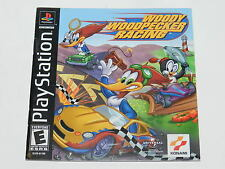 Woody Woodpecker Racing Sony Playstation PS1 Video Game Manual Only