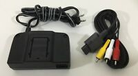 Nintendo 64 AC Adapter Power Supply Official AV Cord Hookups OEM BRAND N64