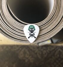 Iron Maiden Trooper Murray White Guitar Pick -Dave 2006-2007 Tour FREE SHIPPING