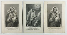 Three Pious Union Of Prayer Membership Cards 1910 St Josephs Home New Jersey