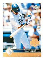 Mike Piazza #95 (1997 Upper Deck) Baseball Card, Los Angeles Dodgers, HOF