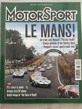 Motorsport Magazine - June 2001 - Le Mans, BMW 2002tii in Rallying, Paris Madrid